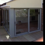 VSM Property Services residential extension with exterior decking
